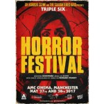 poster from Triple Six Horror Festival 2017 in Manchester