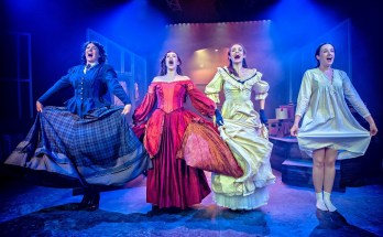 Little Women is performed at Hope Mill Theatre Manchester - image courtesy Anthony Robling