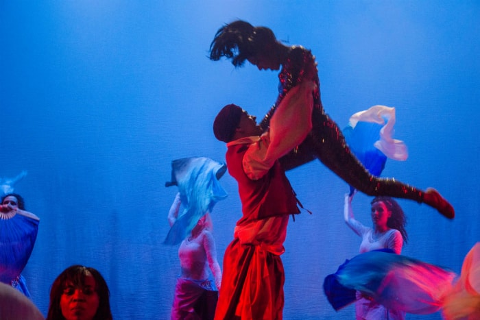 Wade Lewin and Melissa Pina in Scheherazade and 1001 Nights. Image courtesy Paul Houlton
