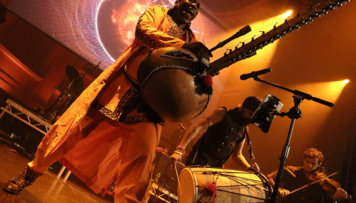 Manchester gigs - Afro Celt Sound System perform at the RNCM - image courtesy R Marrison
