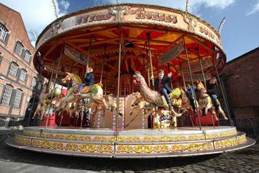 A Victoria Funfair comes to Manchester's Science and Industry Museum