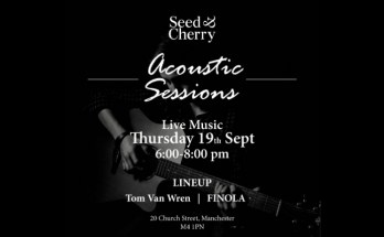 Seed and Cherry Manchester - the acoustic sessions