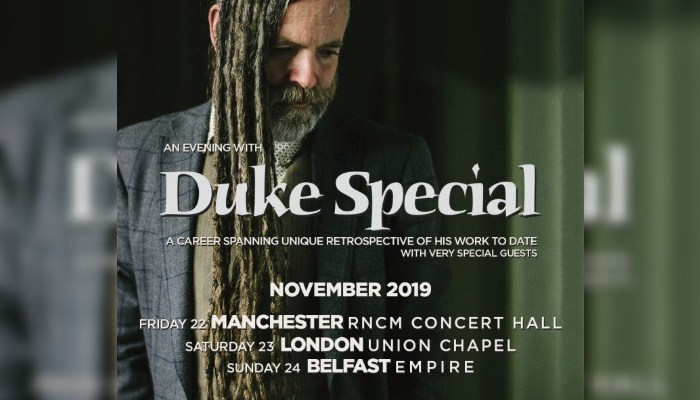 Manchester gigs - Duke Special at the RNCM