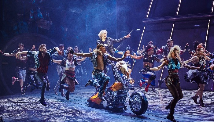 The original West End cast of BAT OUT OF HELL THE MUSICAL Photo Credit - Specular