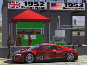 L'Audi affiche ses nouvelles couleurs pour les courses US