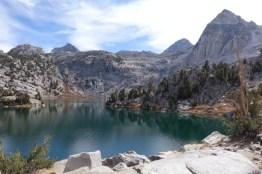 rae lake loop hike day 4 lake 1