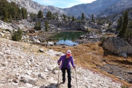 Leaving 60 Lakes Basin