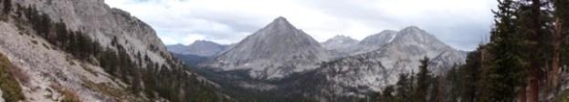 rae lake loop hike day 5 peak