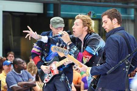 Coldplay To Stream Madrid Concert Live On YouTube