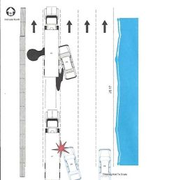diagram of the accident from the traffic report  [ 1400 x 1553 Pixel ]