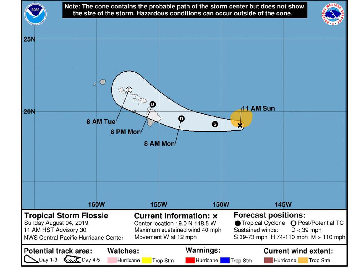 hight resolution of dismal weather possible as flossie expected to approach as a tropical depression