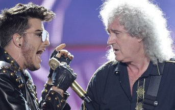 Queen and Adam Lambert perform live at the Sprint Center in Kansas City, Missouri on Sunday, July 9