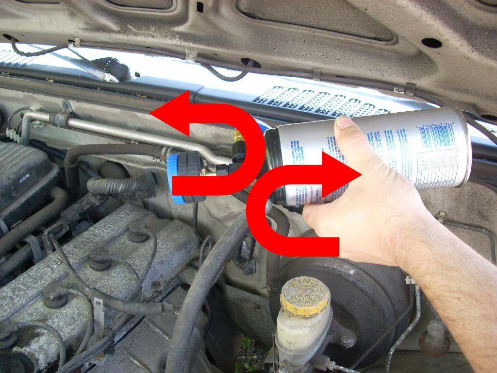 hight resolution of adding the refrigerant