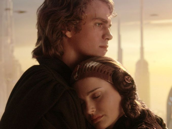 where did anakin's scar come from in star wars?