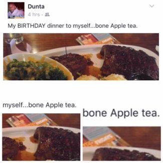 Image result for bone apple teeth meme
