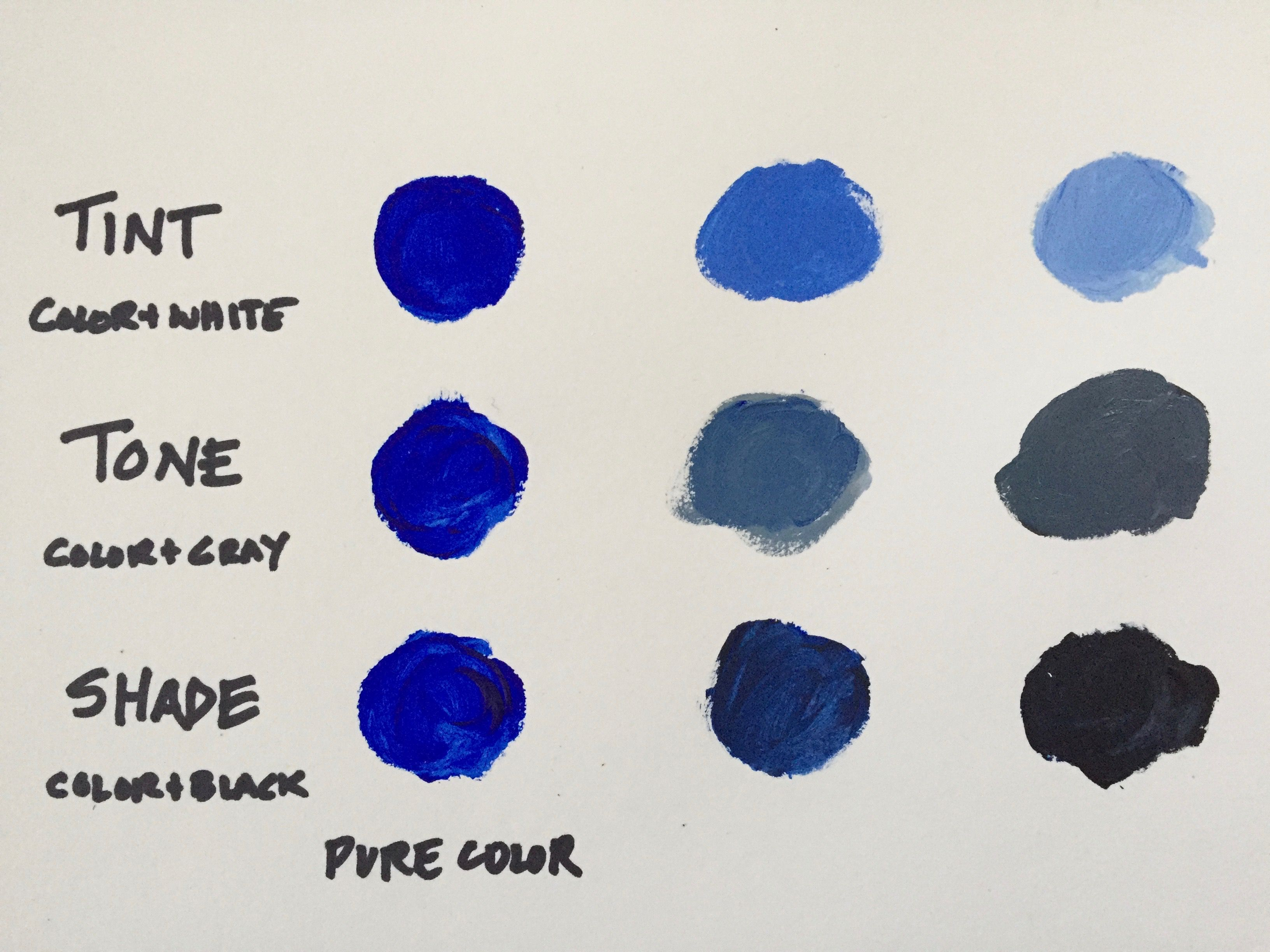 Mixing Colors What You Need To Know About Tints Tones