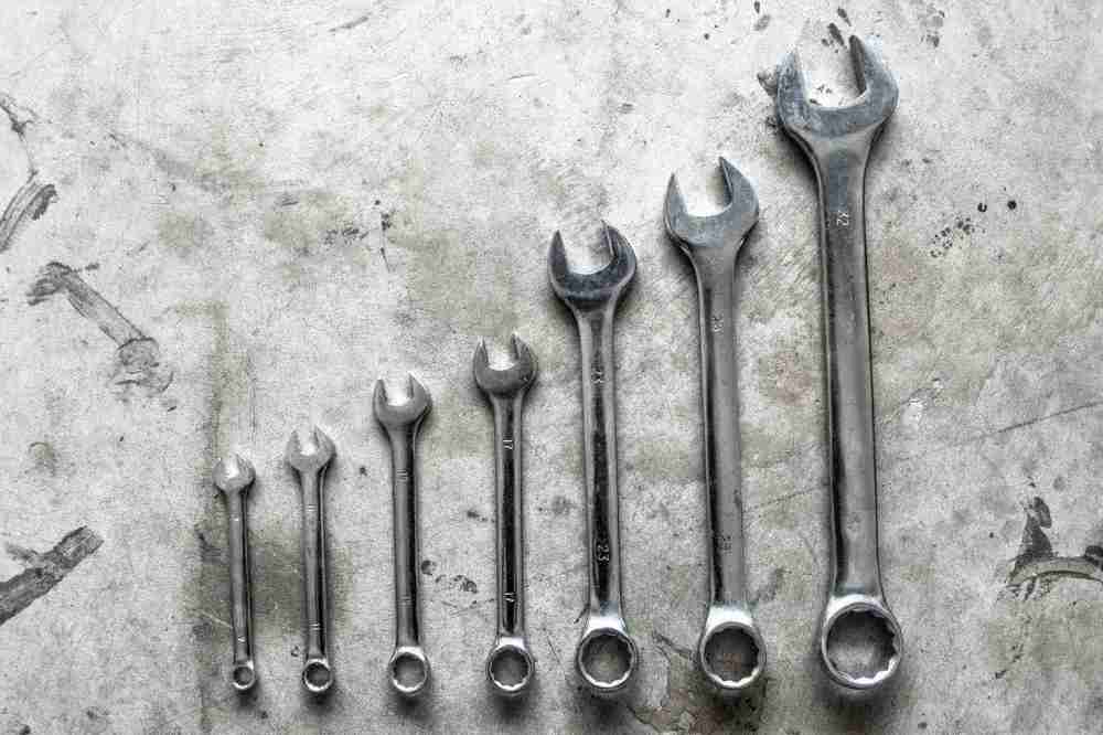 medium resolution of open end wrenches