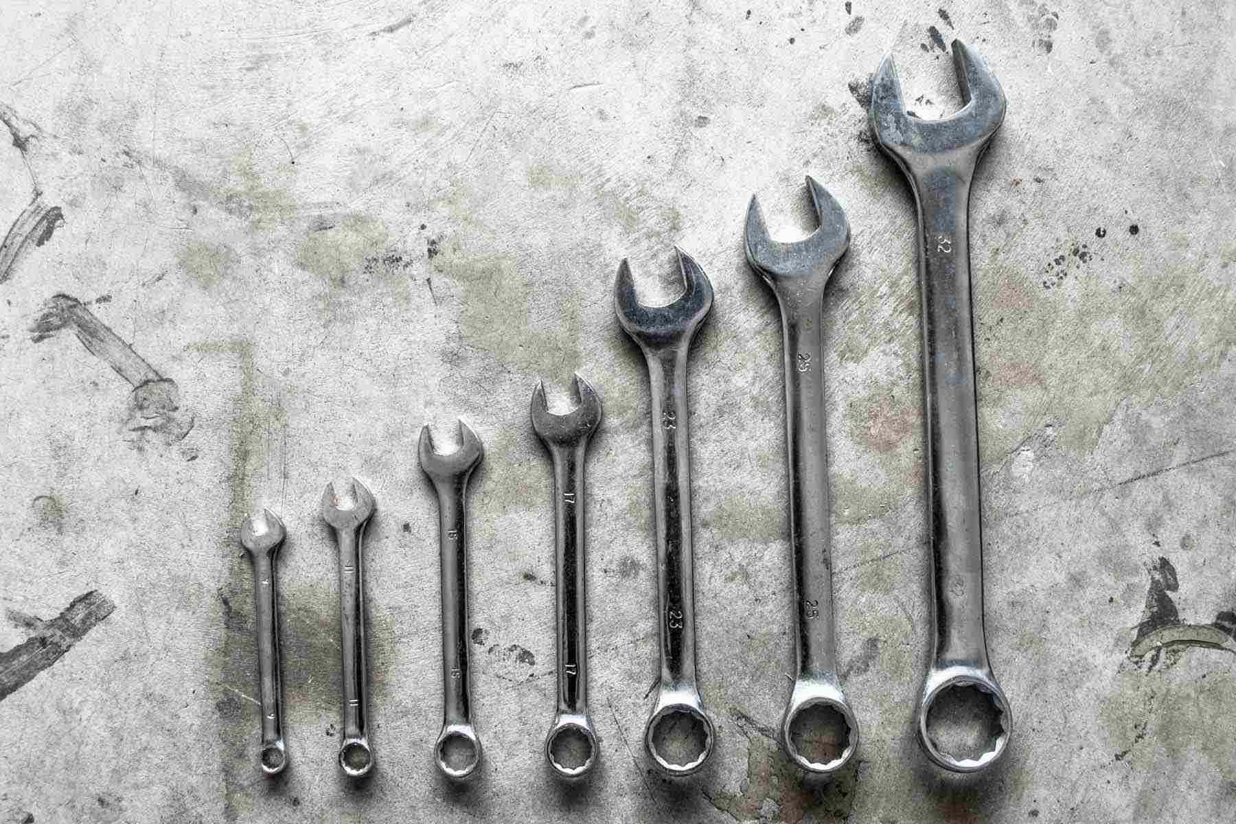hight resolution of open end wrenches
