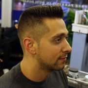 barbershop men's haircuts
