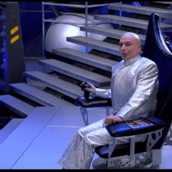 Dr Evil Chair The Blue Chairs Puerto Vallarta Best Austin Powers Fashion Moments