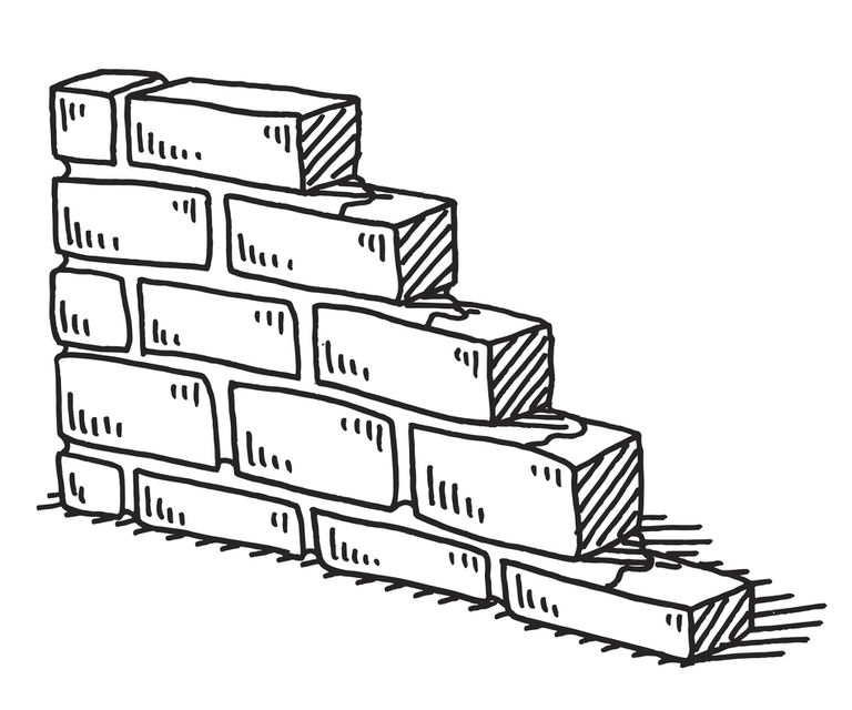 Draw a Brick Wall in Perspective
