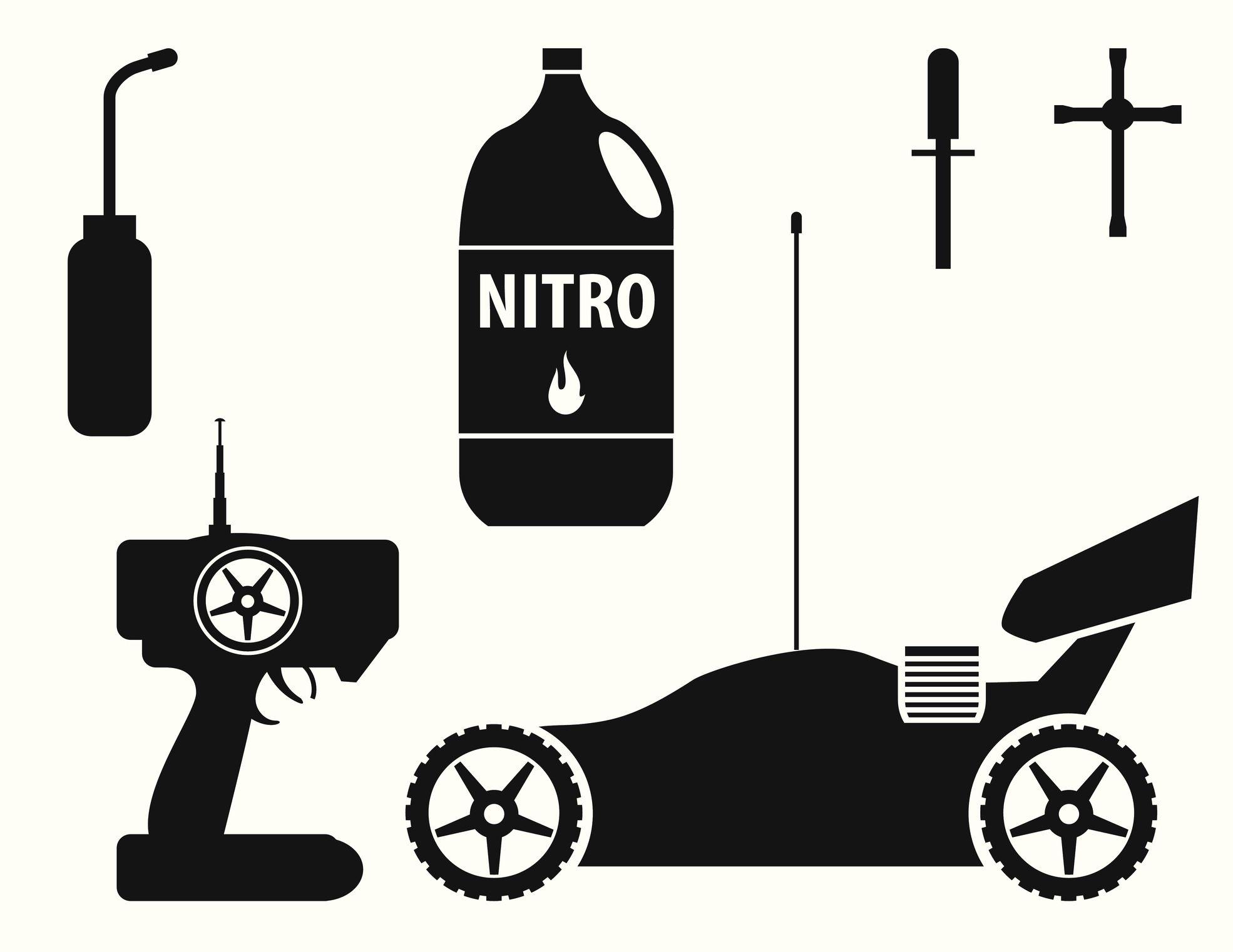 Rc Vehicles Nitro Fuel Percentage Differences