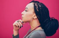 How to Style and Care for Box Braids for Black Hair