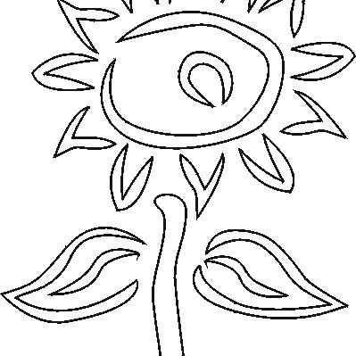 Free Flower Stencils to Print and Cut Out