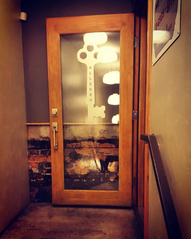 alleged door