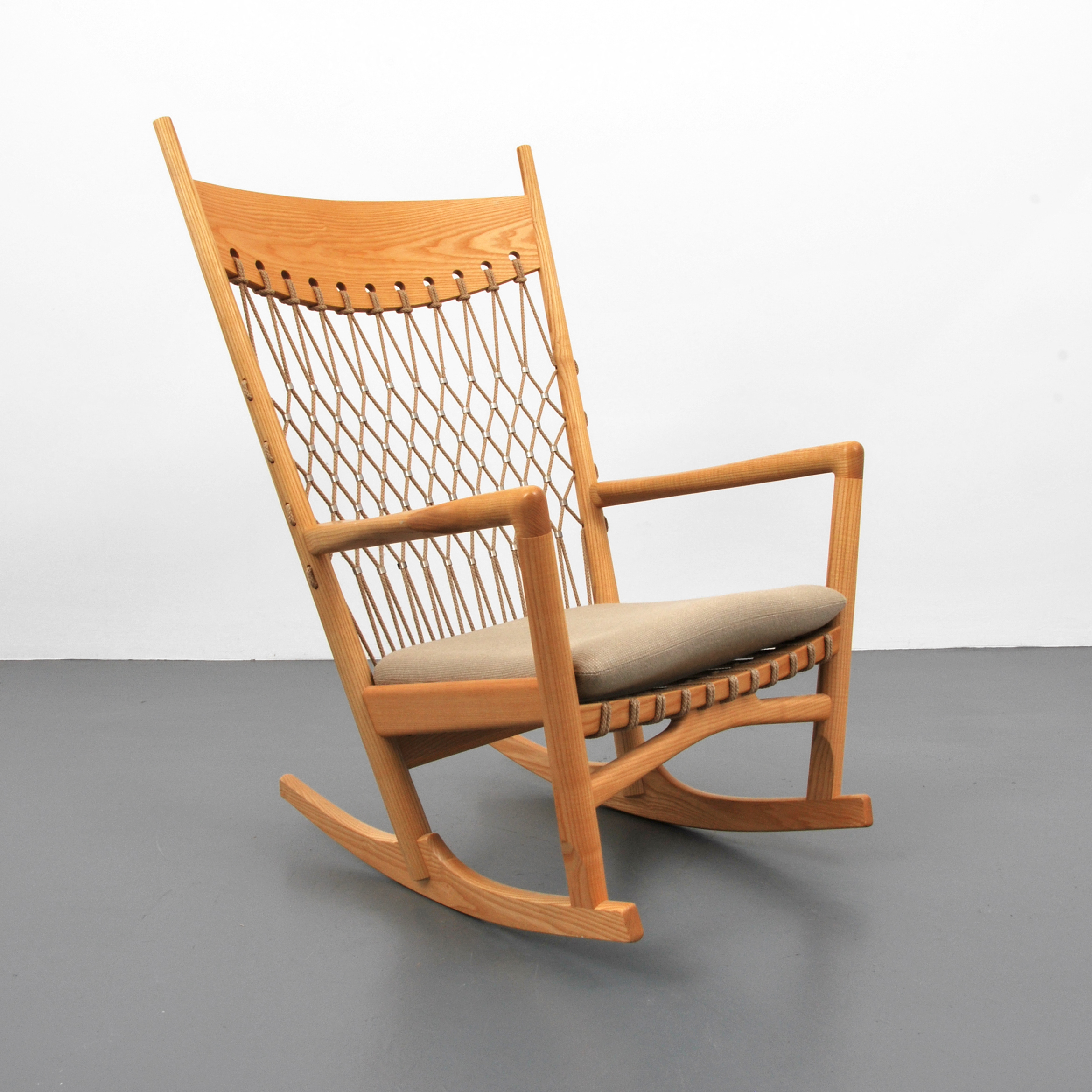 hans wegner rocking chair hanging sims 4 ample seating for all rare manufactured by pp mobler palm beach modern auctions image