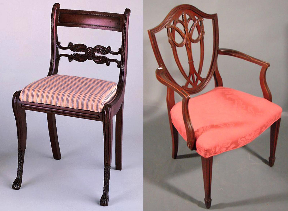 chair antique styles bedroom thing federal furniture