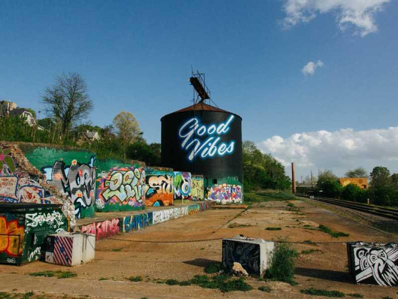 Murals in River Arts District