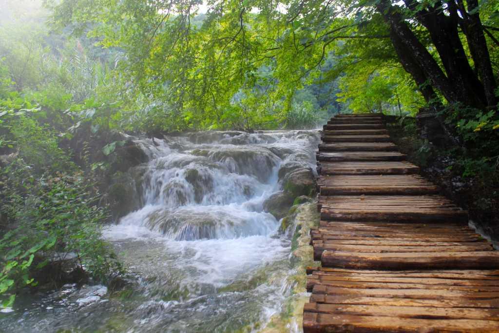 Pathways in Plitvice