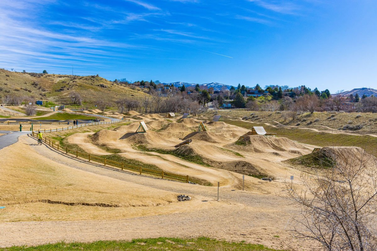 Bike Park Hills in Boise Idaho