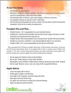 Livebest seasonally p20 pumpkin and apples
