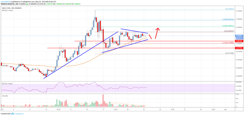 Cardano (ADA) Price Trading Near Key Support: Fresh Increase Likely