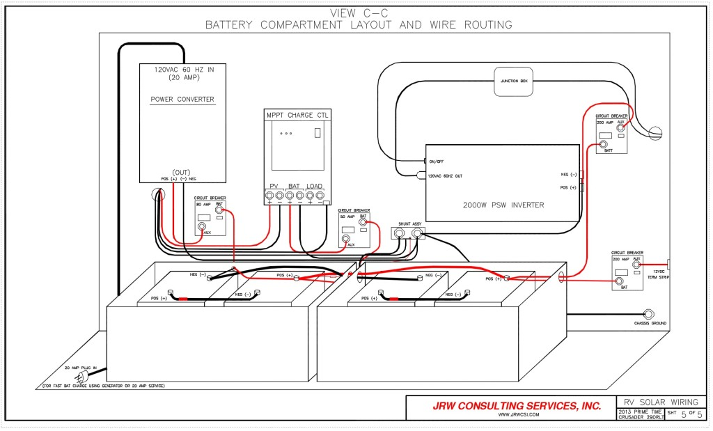 50 Rv Wiring Schematic Rv Power Upgrade Live Breathe Move