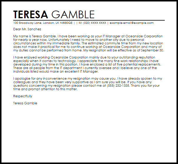 cover letter to whom it may concern sample