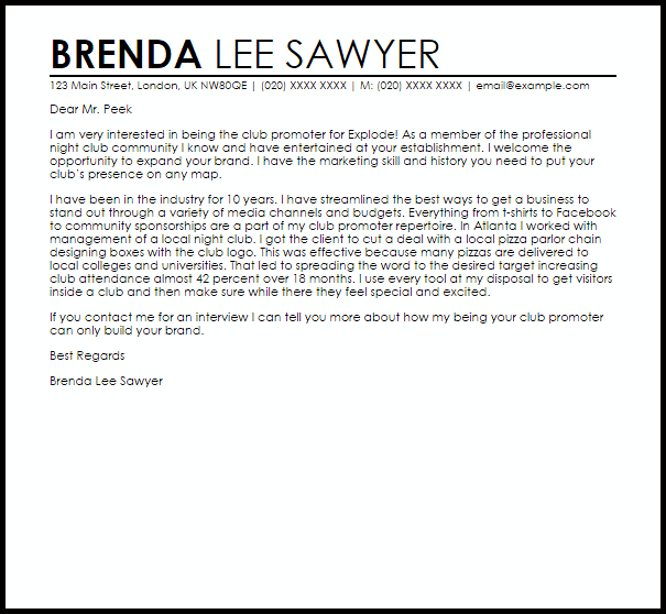 server resume cover letter sample