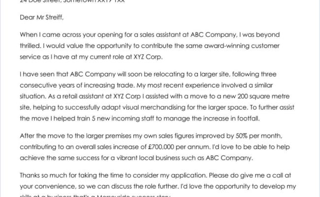 Restaurant Assistant Manager Cover Letter Sample Cover