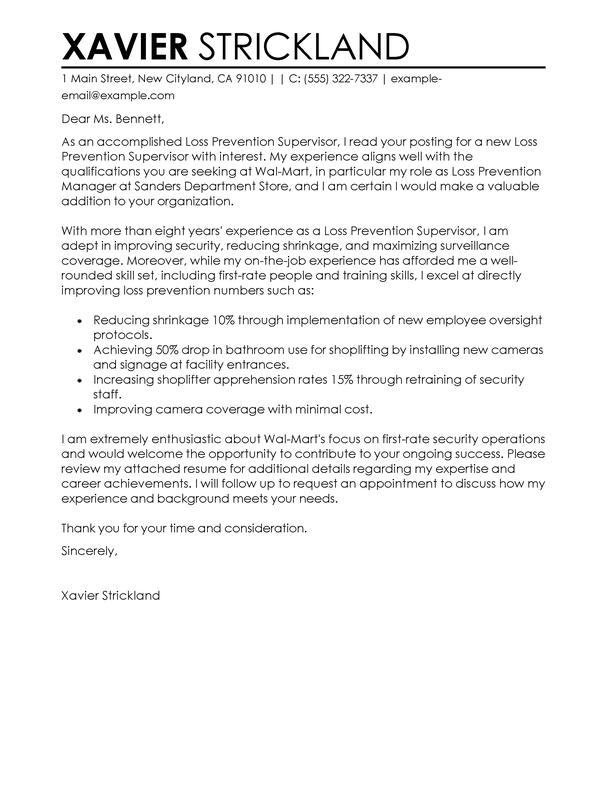 supervisor cover letter docoments ojazlink. Resume Example. Resume CV Cover Letter