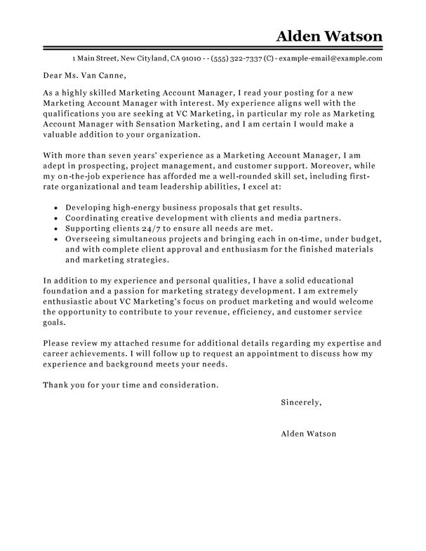 Online Copywriter Cover Letter | Sample Cover Letter In Apa ...
