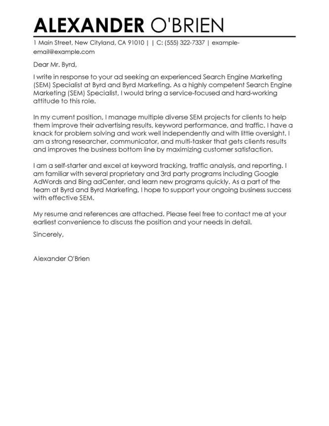 Geologist Cover Letter Haadyaooverbayresort