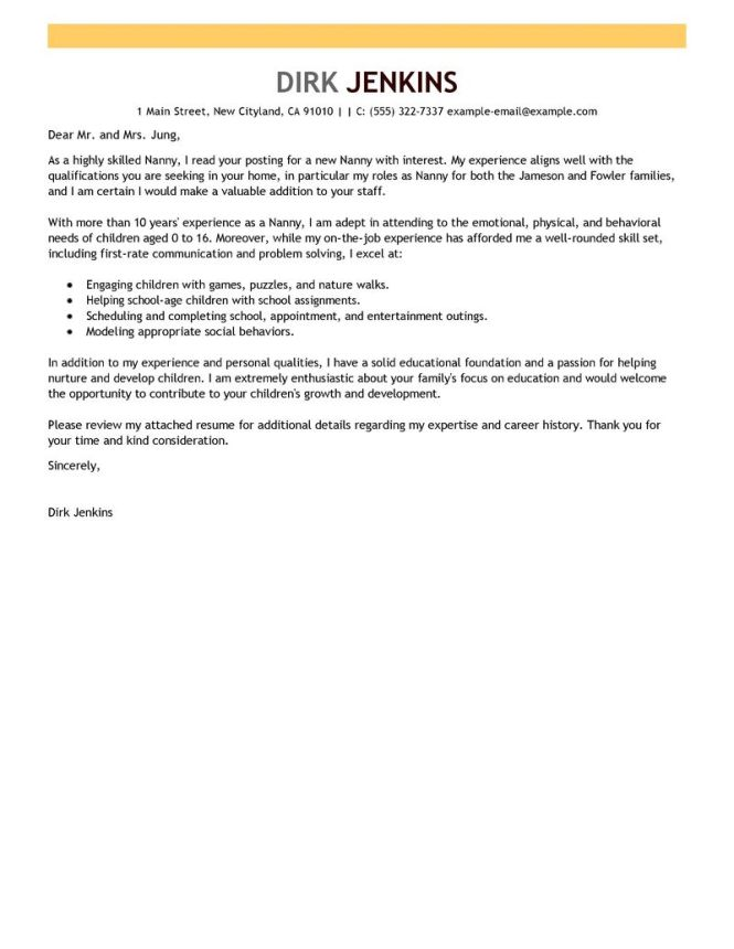 Good Exle Of A Cover Letter For Job 1 2017 Career Format Template Employment
