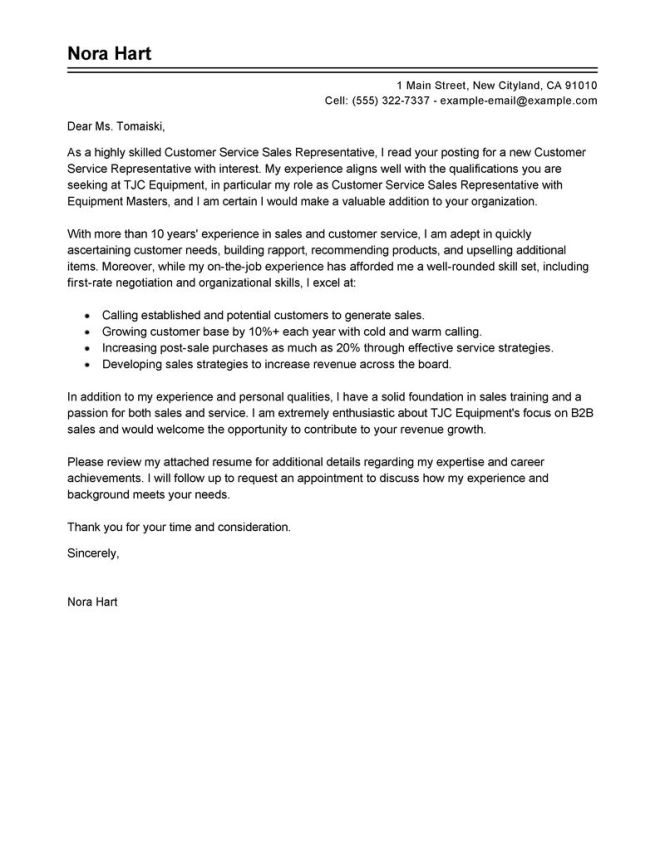 Template Cover Letter Sles For Customer Service Positions Todays Society Timely Friendly
