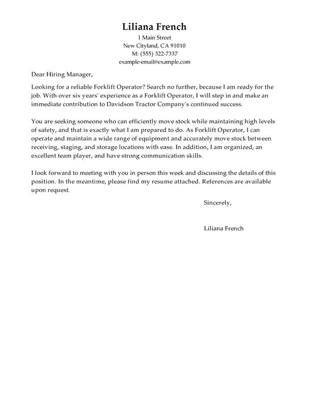 Application Letter Sample Production Worker