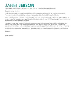 Best Personal Assistant Cover Letter Examples  LiveCareer