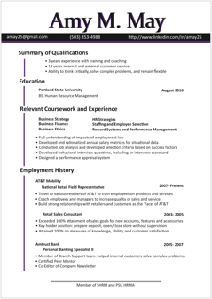 Resume Templates For Microsoft Word LiveCareer