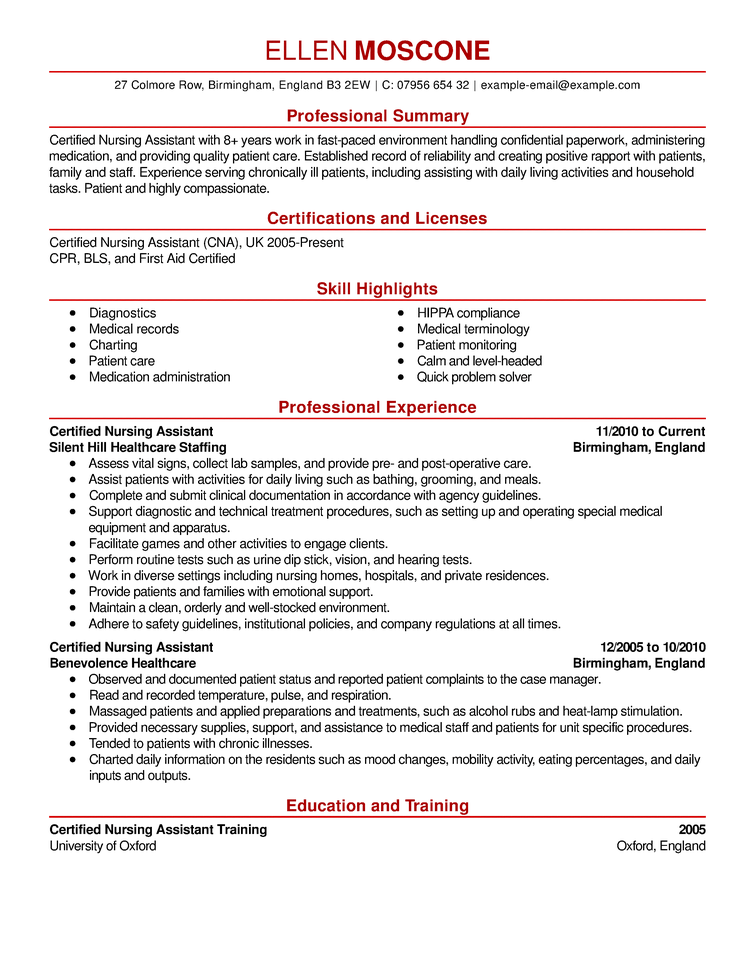 how to put certifications on resume example - Bartending Resume Examples