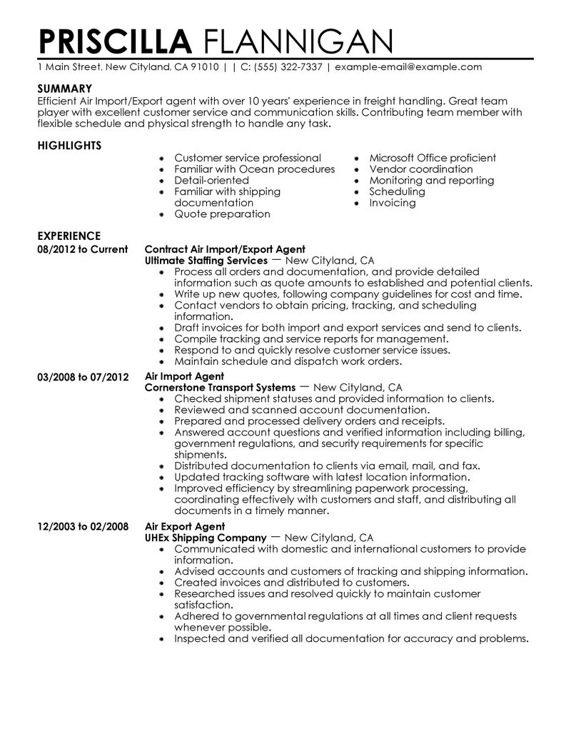 Example Of Government Resume - Examples of Resumes